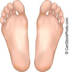 Gesunde Füße.