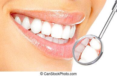 Gesunde Zähne.