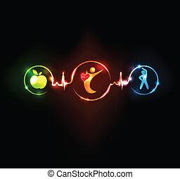 Gesunder Herzwandler