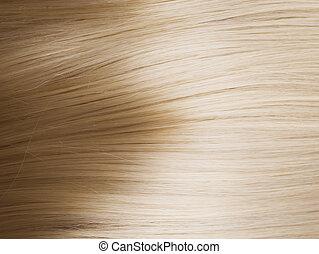 Gesundes blondes Haar