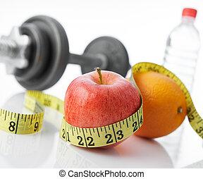 Gesundes Essen und Leben