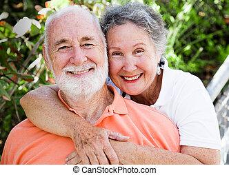 Gesundes, glückliches Paar