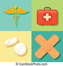 Gesundheit und medizinischer Hintergrund.