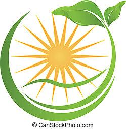 Gesundheits-Natur-Logo für Ihr Unternehmen.