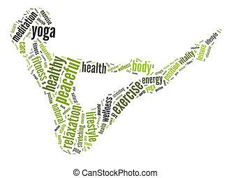 Gesundheits- und Fitnesskonzept.