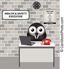 Gesundheits- und Sicherheitschef.