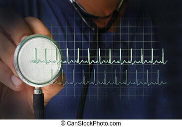 Gesundheitsfürsorge - Puls