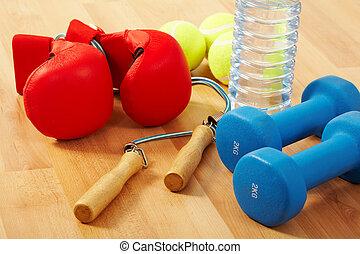 Gesundheitsfürsorge und Fitness