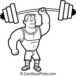 Gewichte erhöhen.