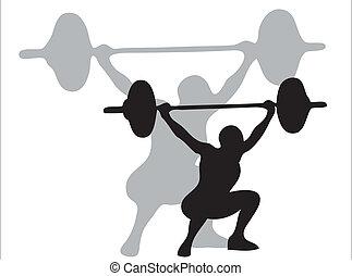 Gewichte heben