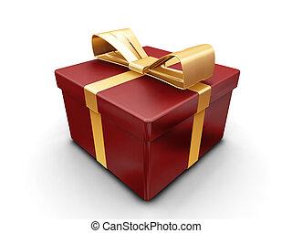 gewickelten geschenk