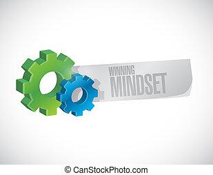 gewinnen, begriff, zeichen, geschaeftswelt, mindset