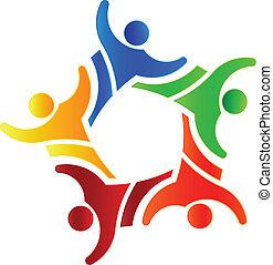 Gewinnergruppe 4 Logo Design
