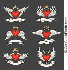 Gewonnenes Herz Emblem