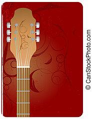 Gitarren Hintergrund