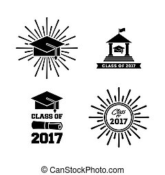 Glückwunsch Klasse 2017 Karte.