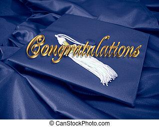 Glückwunsch zum Abschluss