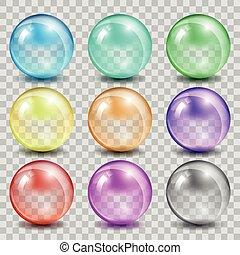 glas, farbe, abstrakt, bereiche, hintergrund, durchsichtig