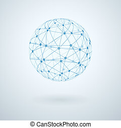 Global Network Icon.