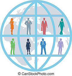 Globale Geschäftswelt, Ressourcenteam