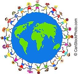 Globale Kinder.