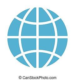 Globale Sphären-Ikone