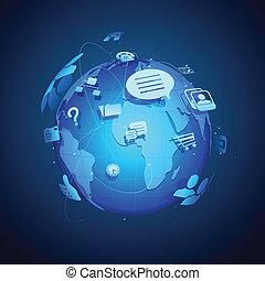 Globale Vernetzung
