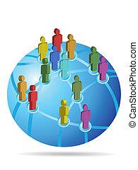 Globales soziales Netzwerk
