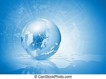 Globalisierungskonzept