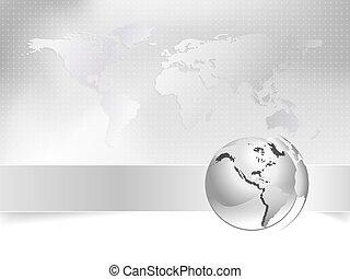 Globe, Weltkarte - Geschäftskonzept