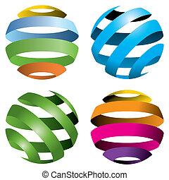 globen, vektor, 4