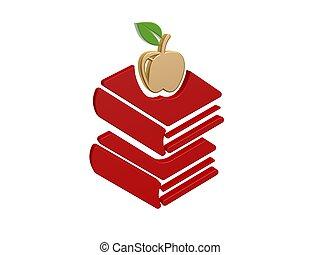 Gold-Apfel-Bücher