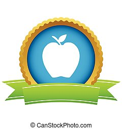 Gold-Apfel-Logo