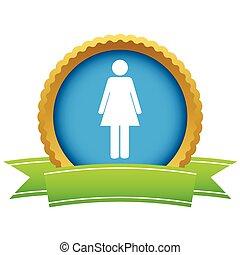 Gold-Frau-Logo