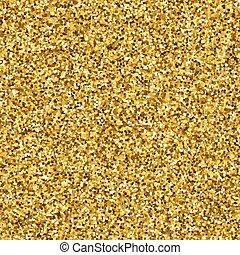 Gold glitter Textur.