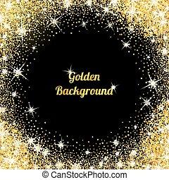 Gold glitter Textur mit Funkeln
