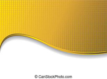Gold Hintergrund mit Schatten