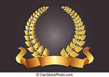 Gold-Lorrel-Rreath-Dekologo.