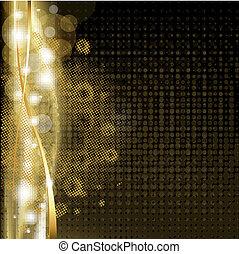 Gold Luxus-Hintergrund mit Sternen