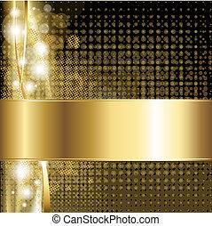 Gold Luxus Hintergrund.