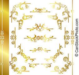 Gold Luxusrahmen