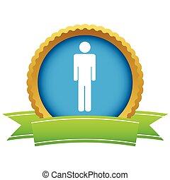 Gold-Man-Logo