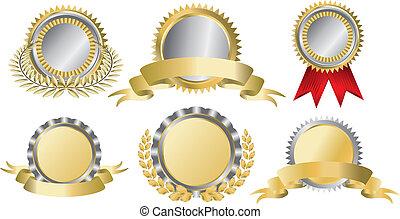 Gold und Silberne Auszeichnungen