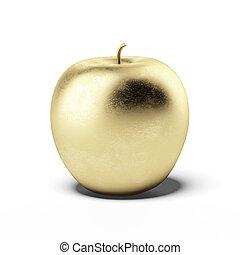 Goldapfel.