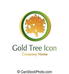 Goldbaum-Ikone.