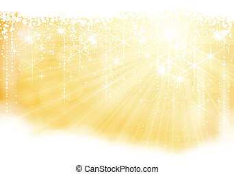 Golden funkelndes Weihnachtsthema