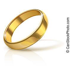 Goldener Ehering