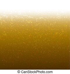 Goldener Hintergrund mit Glitter.