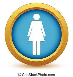 Goldfrauen-Ikone