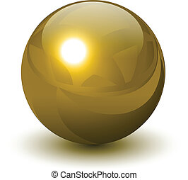 Goldkugel